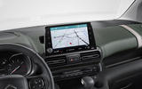 Citroen Berlingo 2018 first drive review infotainment screen