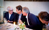 Bernie with Nelson Piquet