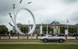 BERNIE ECCLESTONE SCULPTURE: The central feature at Goodwood celebrate Bernie Ecclestone