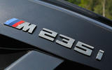 Birds BMW M235i boot badging
