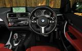 Birds BMW M235i dashboard