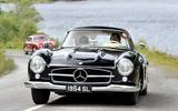 1955 Mercedes-Benz 300 SL black