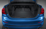 BMW 1 Series Saloon boot space