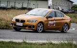 BMW 1 Series Saloon cornering