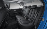 BMW 1 Series Saloon rear seats
