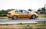 BMW 1 Series Saloon side profile