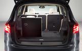 BMW 2 Series Gran Tourer Boot Folded Seats