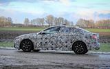 BMW 2 Series Gran Coupe spy shot side