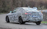 BMW 2 Series Gran Coupe spy shot rear three quarter