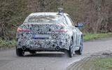 BMW 2 Series Gran Coupe spy shot rear