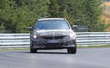 BMW 3-series Touring Nurburgring testing front