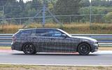 BMW 3-series Touring Nurburgring testing right