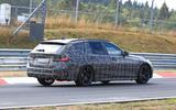 BMW 3-series Touring Nurburgring testing right corner