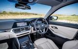 BMW 318d Sport interior
