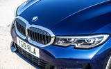 BMW 318d Sport bonnet