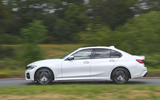 2019 BMW 330d UK review - side