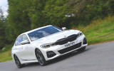 2019 BMW 330d UK review - front