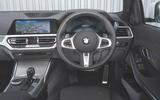 2019 BMW 330d UK review - interior