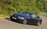 BMW 440i cornering