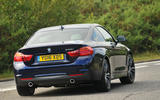 BMW 440i rear cornering