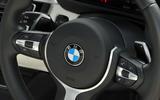 BMW 440i steering wheel controls