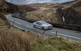 BMW 530i xDrive on the road