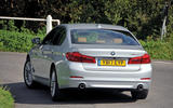 BMW 5 Series rear