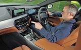 BMW 5-series 520d longterm review Steve iDrive