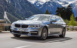 BMW 530d Touring cornering