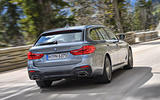 BMW 530d Touring rear