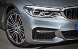BMW 530d Touring headlights