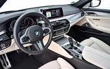 BMW 530d Touring dashboard