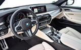 BMW 530d Touring dashboard