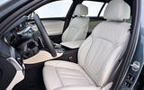 BMW 530d Touring interior