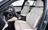 BMW 530d Touring interior