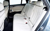 BMW 530d Touring rear seats