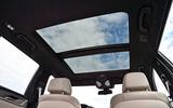 BMW 530d Touring panoramic sunroof