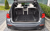 BMW 530d Touring boot space