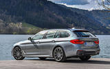 BMW 530d Touring rear quarter