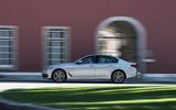 BMW 530e Performance side profile