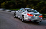 BMW 530e Performance rear cornering