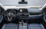 BMW 530e Performance dashboard