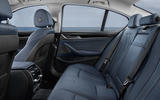 BMW 530e Performance rear seats