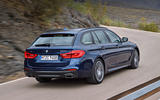 2017 BMW 5 Series Touring side profile