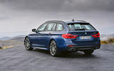 2017 BMW 5 Series Touring rear