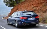 2017 BMW 5 Series Touring rear lights