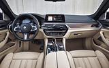 2017 BMW 5 Series Touring interior