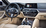2017 BMW 5 Series Touring interior from side angle