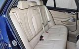 2017 BMW 5 Series Touring back seats
