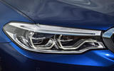 2017 BMW 5 Series Touring headlights